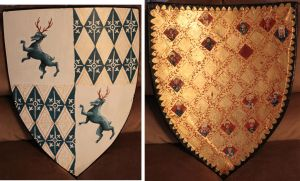 Knight's Shield by fainting-goat
