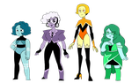 Gemsona Line Up by kilala97