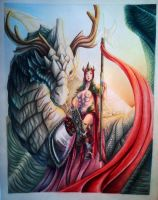 Paladin Goddess -from my books by Aialeth-Kyresh
