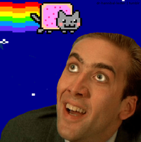 NYAN CAGE ANIMATION by harley1201