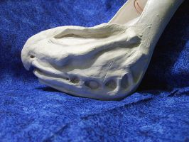 Creature Shoes WIP 4 by Romereloh