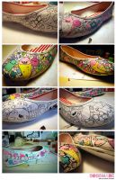 Shoe-work-steps by Bobsmade