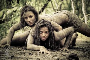 Mud Tribe by courtneysantos
