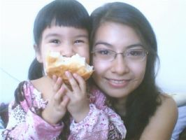 My daughter and me by Chachai