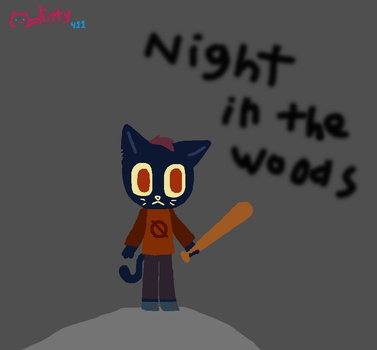 Mae the cat by Kittythecat411