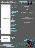 Vocaloid Character Sheet ((BLANK)) by Midnyte-Wolff