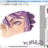 trying to adopt sakimi coloring style by michiro-mitch