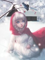 Little Red Riding Hood Signature by Dinocojv