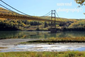 Dunvegan Bridge ,Alberta by cangirl78