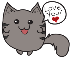 Love kitty! by evalunaofficial