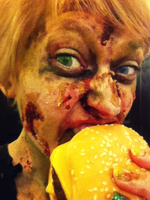The Undead Take Over Fast Food by Imagine-athena