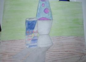 Redbull And A Lava Lamp by EternalArtGirl740