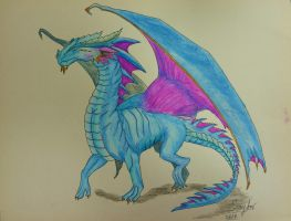 Air Dragon by MarieTaylor