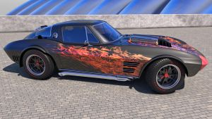 1964 Chevrolet Corvette Grand Sport by SamCurry
