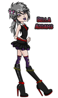 .::Bella Addams Full::. by HakureiKai