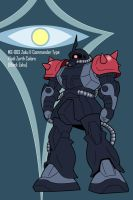 Black Zaku by RiderB0y