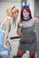 Alice and Cheshire Cat by AliceCosplay