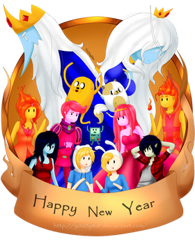 Happy new Year!! by M-ar