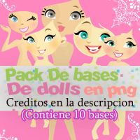 Pack De Bases de Dolls En png by Girlspng