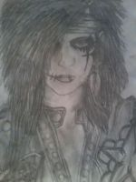 Andy Biersack Drawing 1 by SammieSparxx