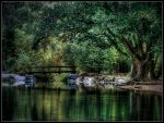 Bridge over untrobuled wateR by Ghost247