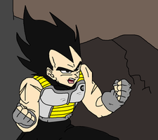 Vegeta - Don't Underestimate by Kaiju-Borru-Zetto