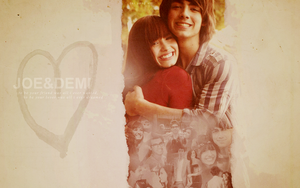 Demi and Joe Wallpaper 1 by EUNSHIHAE