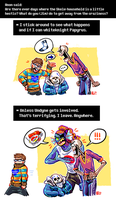 Undertale ask blog: hectic house by JimPAVLICA