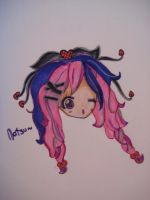 pink and purple hair by nat-chanthefrog