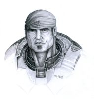 Gears of War - Marcus Fenix by BlkBullet23