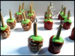 Candy Apple Army Charms by chat-noir