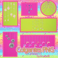 Pack colgantes png By Anabells by ANABELLS