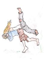 Seoi Nage by ThEquivalency