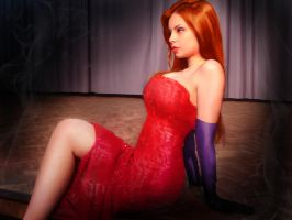 Jessica Rabbit? by sahfofa