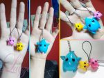 Lumas keychain from Mario Galaxy by LayzeMichelle