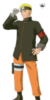 Naruto Render (The Last: Naruto the Movie) by RoxasXIIIK