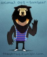 Daily Critter 002 of 365 Sun bear by jeff-aka-stray