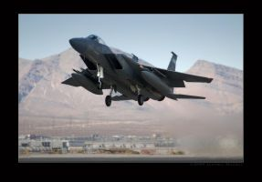 F15 Departure by jdmimages