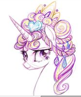 Princess Cadence by zhens
