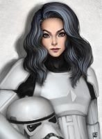 stormtrooper girl by Ondraede