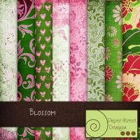 blossom-paper street designs by paperstreetdesigns