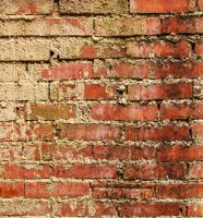 bricks with mortar stains by coVasderooH