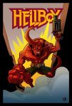 HELLBOY Anniversary Tribute by kehchoonwee