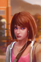 Max Caulfield (Life is Strange) by AndWhatArt