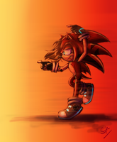 ShayTheHedgehog commish by Gigi-D