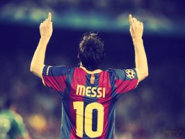 Lionel Messi by SaiyanJaz