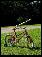 Jump on my barbie bike by dolly41