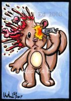 Freaky Geeks BRAINY ACEO OOak by Undead-ART-ACEO