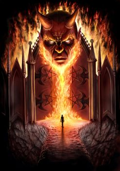 Gates of Hell by AndrewDobell
