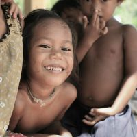 A cambodian smile by CatchMe-22